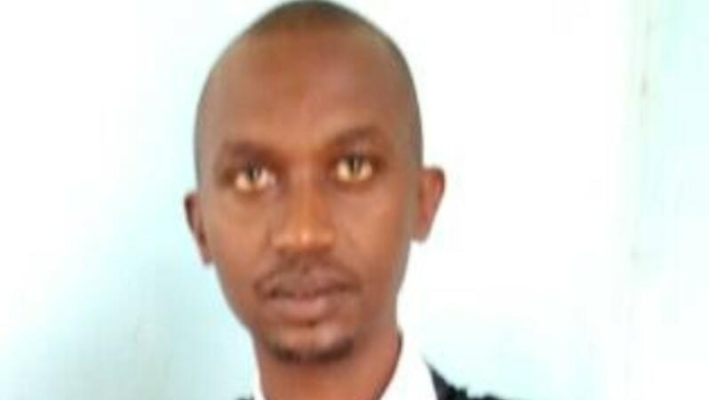 Der burundische Rechtsanwalt Tony Germain Nkina (August 2021)